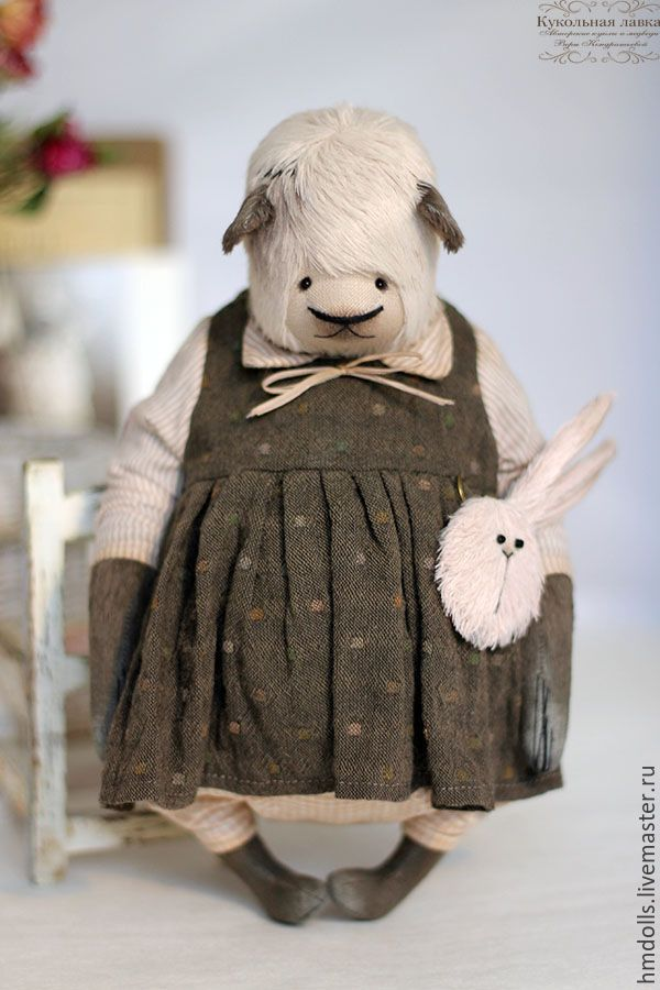 Купить Рита - мишка, мишка девочка, тедди, панда, teddy bear, teddy, вера кондратьева