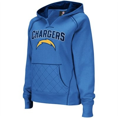 I have this and love it! - Reebok San Diego Chargers Ladies Powder Blue Quilted Pullover Hoodie