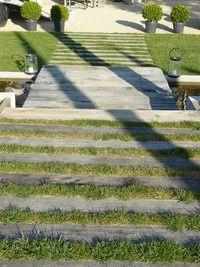 Traverse paysagere en chene, traverses de chemin de fer en vente sur lapaysagerie.com,