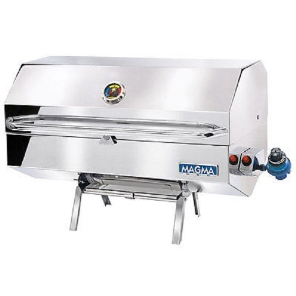 Magma Monterey Gourmet Series Gas Grill food at home or outdoors #Magma