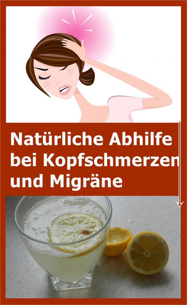 Natürliche Abhilfe bei Kopfschmerzen und Migräne | njuskam!