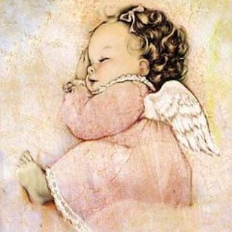 I had this picture framed when my daughter lost her baby girl..it was a comforting picture for me knowing baby Gracie was a beautiful angel.