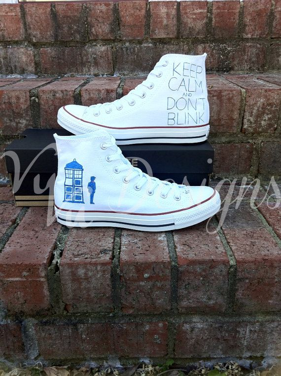 Doctor Who Converse by VuVuDesigns on Etsy