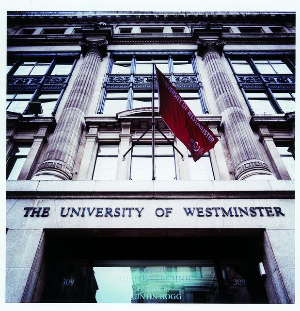 Regent Street Building, University of Westminster - If funding goes through- this is where I'll be for three weeks this summer!