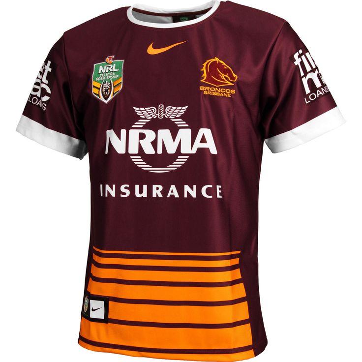 Brisbane Broncos 2016 Rugby League Shirt. BNWT. Large NRL. £60+ NIKE. | eBay