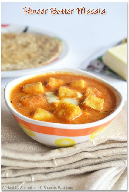 Paneer Butter Masala - Restaurant style - Step by Step Recipe