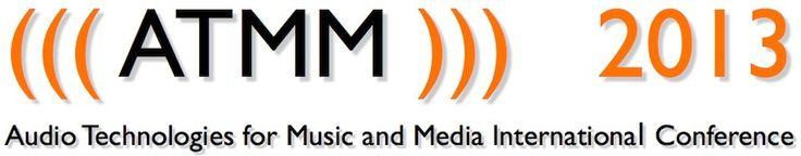 ATMM (Audio Technologies for Music and Media – Müzik ve Medya için Ses Teknolojileri), ses ve müzik teknolojileri ile görsel-işitsel araçların farklı yönlerine odaklanan, ses, müzik, görüntü ve insan etkileşimi gibi konuların birbirleri ile olan etkileşimlerini hem 'geleneksel' hem de 'yeni' medya açısından inceleyen disiplinlerarası bir konferanstır. ATMM 2013, 31 Ekim ve 1 Kasım 2013 tarihlerinde İletişim ve Tasarım Bölümü'nün ev sahipliğinde Bilkent Üniversitesi'nde…