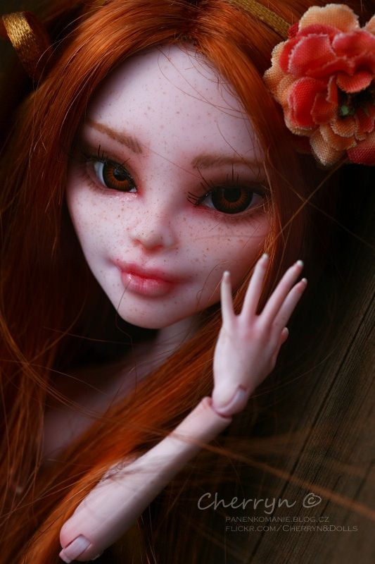 OOAK Monster High - my new girl Cinnamon - by Renata Cherryn