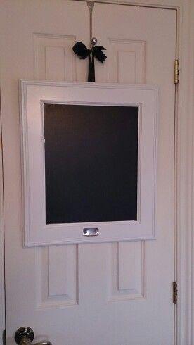 My DIY chalkboard