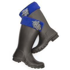 Amazing Rainboot Cuffs to spice up your boring old Rainboots!!