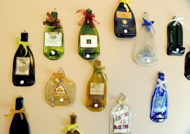 How To Flatten Glass Bottles For Decoration #Musely #Tip