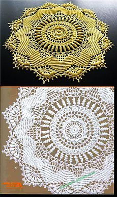 """""""Ruby"""" из альбома Doilies with a Twist."""