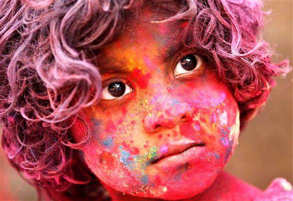 Amazing photo: India Holi Festival