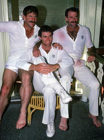 Rod Marsh, Greg Chappell & Dennis Lillee