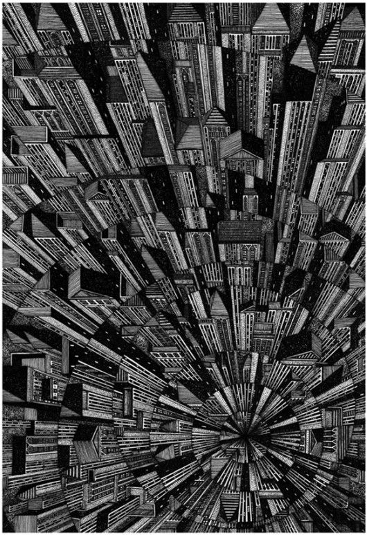 Die Kunst der Architektur: Einige der besten Architekturzeichnungen von Tumblr