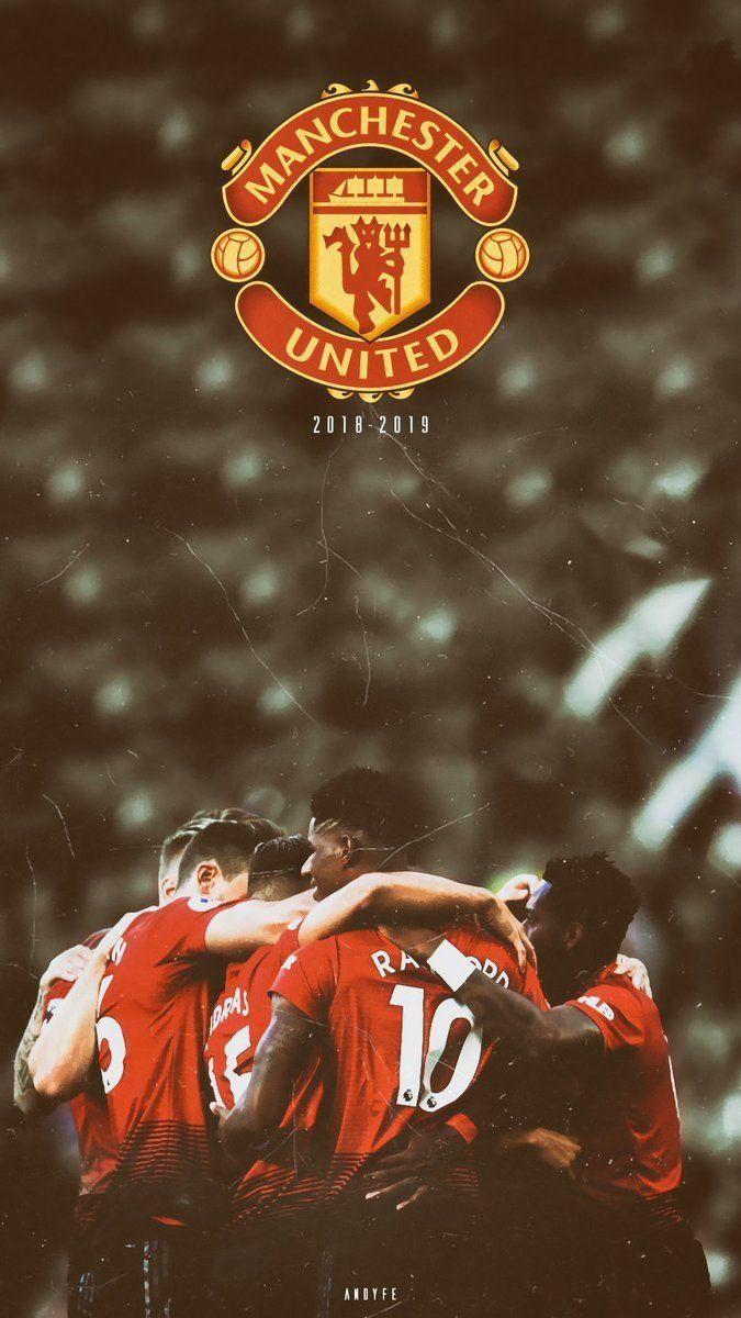 Man Utd Wallpaper Hd 2019 In 2020 Manchester United Wallpaper Manchester United Poster Manchester United