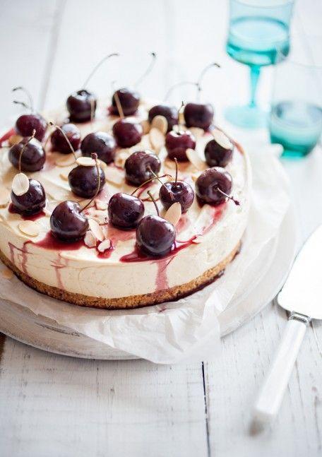Cherry & Almond Cheesecake #adelaide #travel #market #adelaidemarket