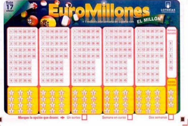 Euromillones: Sorteo del viernes 5 de enero de 2018