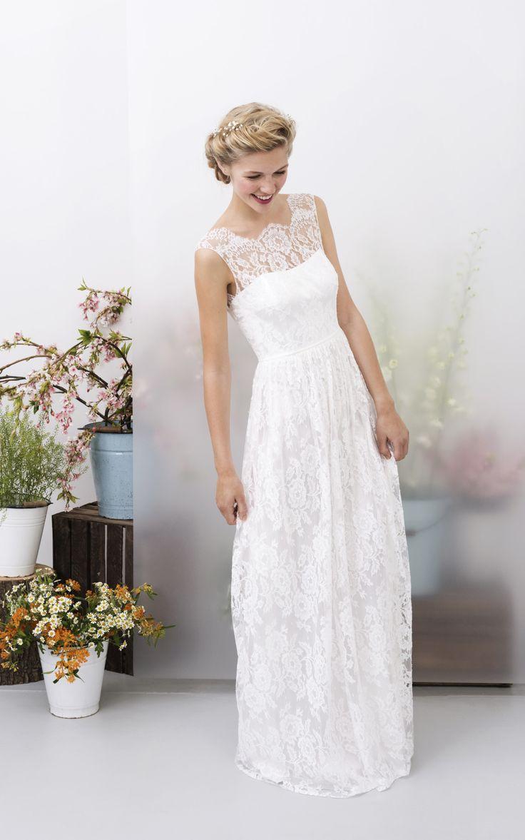 ... Schlicht auf Pinterest  Kleid Hochzeit, Hochzeitskleid und Brautmode