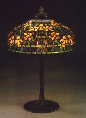 a reference source for antique stained glass leaded lamps original examples of the best lamps from the best lamp makers including tiffany studios - Antique Light Fixtures
