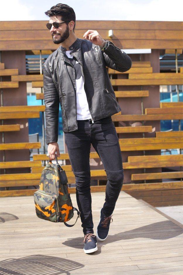 Diga sim para as jaquetas de couro. | 24 truques simples de moda que vão deixar…