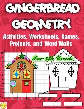 These engaging holiday activities, worksheets, games and projects are perfect for some fun geometry practice. The product reinforces coordinate pairs where students identify the pairs or create them. Students also practice identifying shapes and arranging them in a hierarchy, finding a rule for