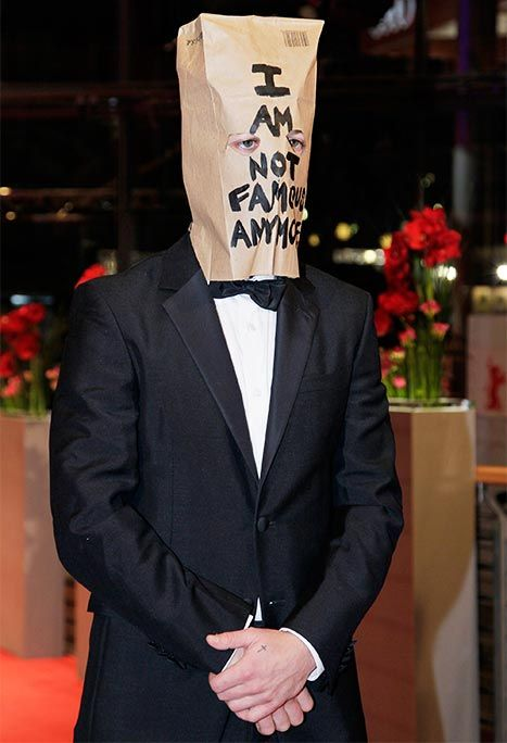 Shia LaBeouf Wears Paper Bag Over His Head at Berlin Premiere: Picture - Us Weekly