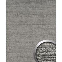 Wandverkleidung Beton Optik WallFace 14803 URBAN Design Platte Wand-paneel Blickfang Dekor selbstklebende Tapete titan grau | 2,60 qm