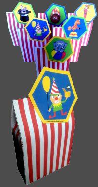 Gratis Circus Traktatiedoosjes. Download ze snel op http://helpmijnkindisjarig.com/