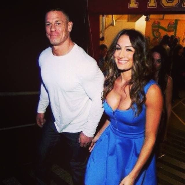 Nikki Bella and John Cena | People I | Pinterest | John ...