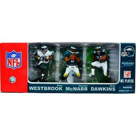 McFarlane NFL Sports Picks 3-Packs Philadelphia Eagles Action Figure 3-Pack