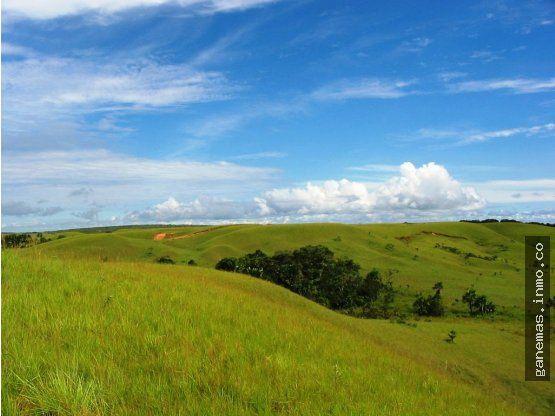 """SE VENDE HACIENDA"""" SAN LUIS""""EN SAN VICENTE DEL CAGUAN.  TIPO DE NEGOCIO: VENTA.  PRECIO: $ 500.000 X HECTAREA.  AREA: 19.068 HECTAREAS 5.000 m2.  CARACTERISTICAS:  L"""