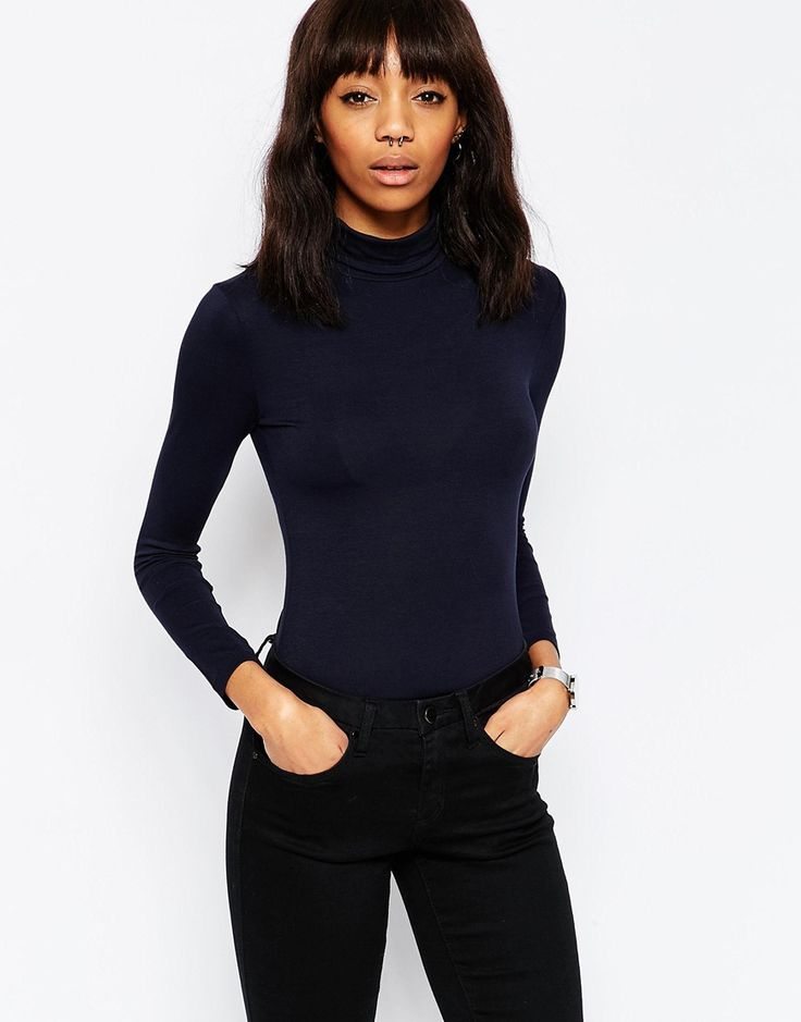 ASOS+The+Polo+Neck+With+Long+Sleeves