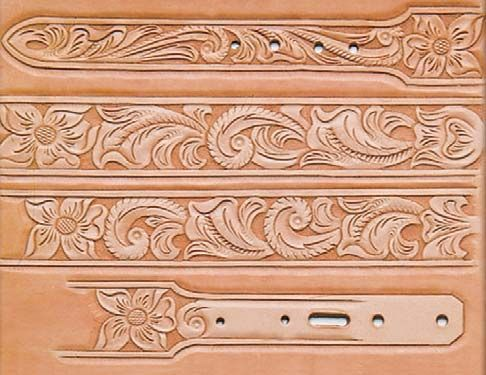 25 best ideas about leather tooling patterns on