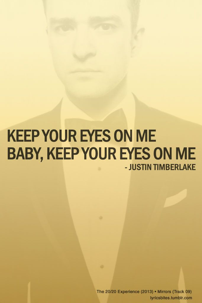 Mirrors lyrics justintimberlake mirrors lyrics bites for Mirror mirror lyrics