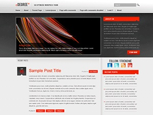 This minimalistic, yet clean & professional theme is highly SEO optimized and fully customizable design with 3 completely different skins. Theme options include custom header, footer and background images, logo uploader, custom home page content, social networking integration and more. Tested on WP 2.8.x using Firefox, IE6/7/8, Google Chrome, and Safari. W3C validated CSS & HTML.