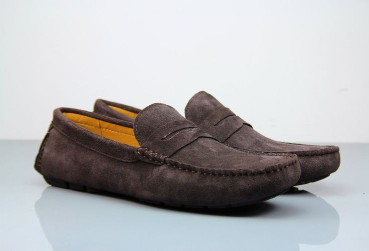 Always Wanted A Pair Of Luxurious Loafers? Opt for the Fane Flap Coffee Suede Loafers! #insititchu #footwear #menswear #suedloafers #mensstyle