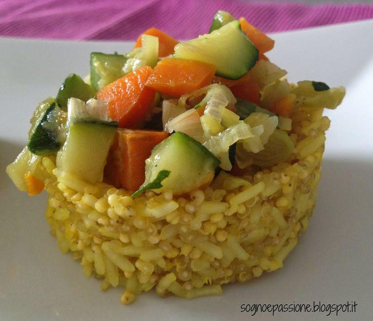 Tortini di cereali e verdure http://sognoepassione.blogspot.it/2015/03/tortini-di-cereali-e-verdure_16.html