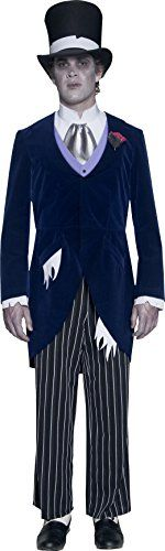 Smiffys Men's Gothic Manor Groom Costume Smiffy's