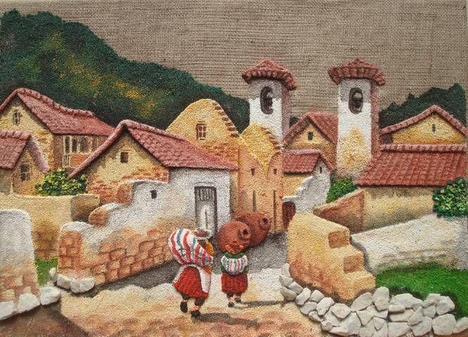 tapices en arpillera - Buscar con Google