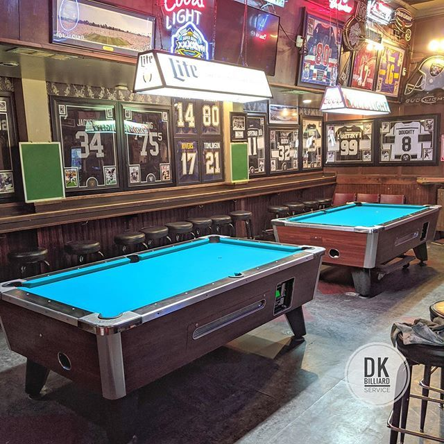 Finished Refelting At The 35er Standard Green Backed Cloth Billiards Dkbilliards Playpool Mancave Gameroom Pooltable In 2020 Play Pool Pool Table Billiards