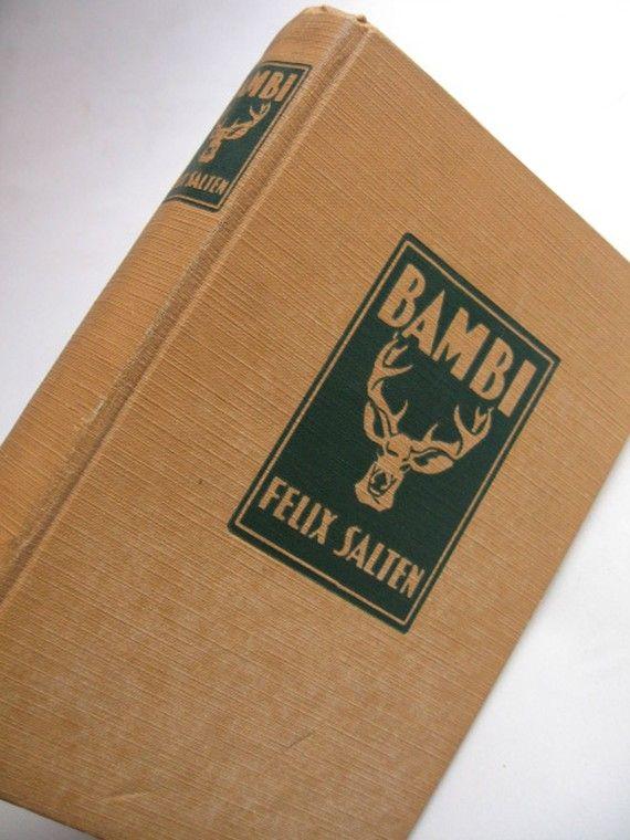 BAMBI 1929 FELIX SALTEN by lesaet on Etsy