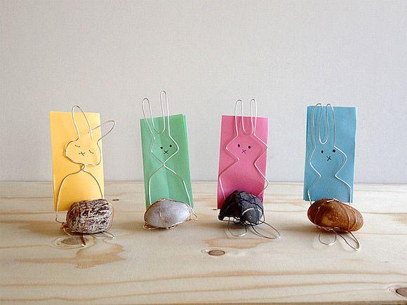 DIY Bunny-Shaped Card Holders