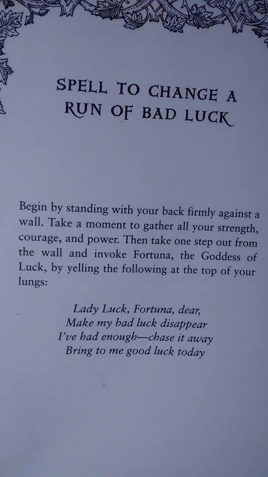 Sell To change run of bad luck - Pinned by The Mystic's Emporium on Etsy