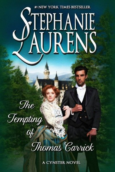 The Tempting of Thomas Carrick by Stephanie Laurens: http://www.thereadingcafe.com/the-tempting-of-thomas-carrick-cynsters-22-by-stephanie-laurens-book-tour-and-promotion/