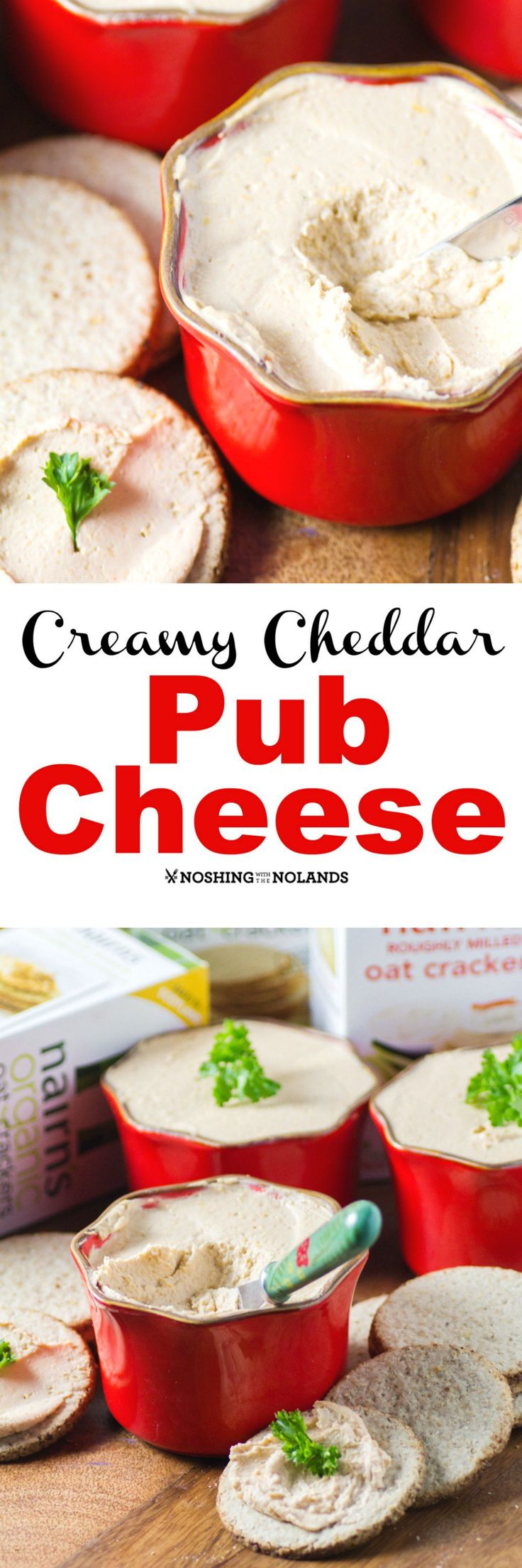 Whether it is a casual get together or a more formal cocktail party, appetizers are always a hit. This Creamy Cheddar Pub Cheese could be served at....