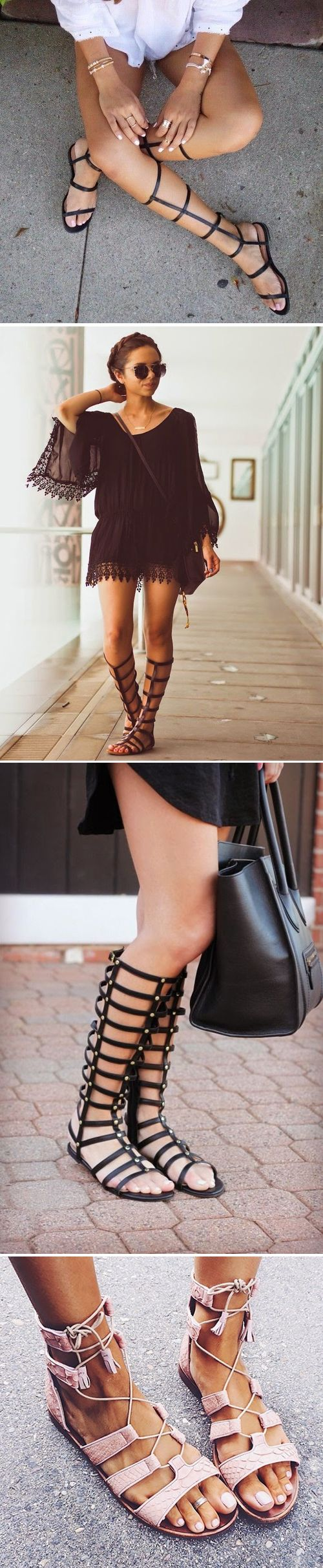 Cute Sandals! These gladiator sandals are adorable!!!