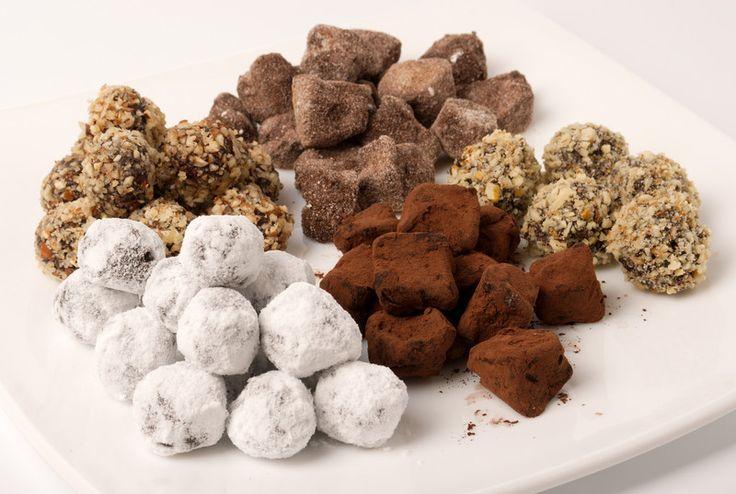 Trufle czekoladowo-korzenne