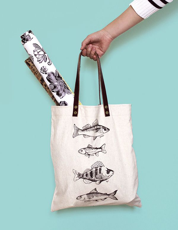 HANDMADE FISHBAGS on Behance