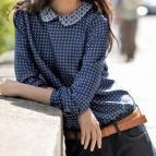 1 blouse, 3 looks ! sans col, col claudine, col lavalière (patron T 38-42-46 et tuto) > magazine avantages